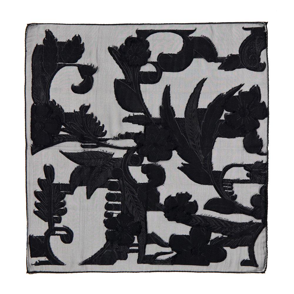 1fd6fcc0211 100% Silk Olivia pochette in Black