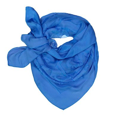 89c6872cbf2 100% Silk Grace Maxi Scarf in Sky Blue