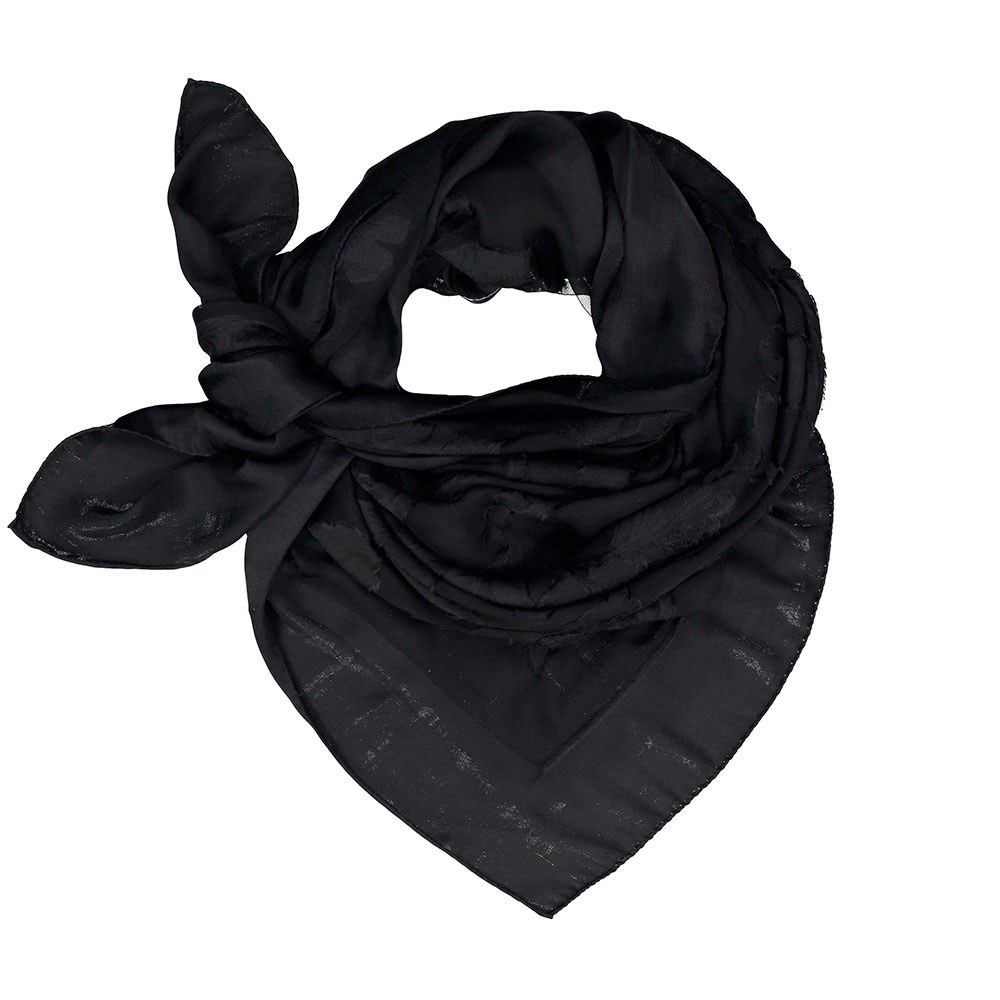 913a0b92213 100% Silk Grace foulard in Black